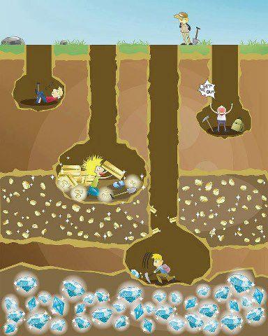 Homens cavando minas de diamantes3
