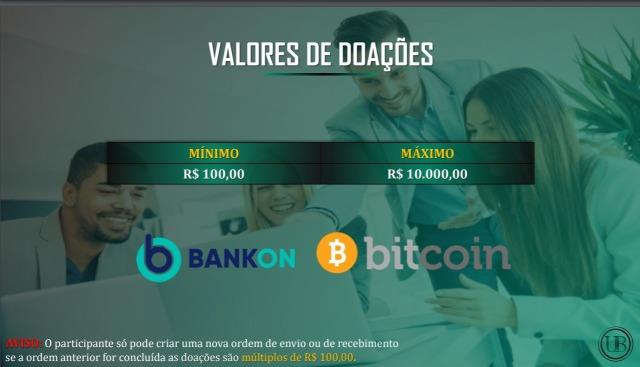 Valores de doações da União Brazil